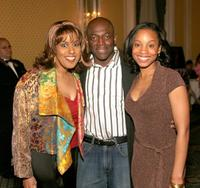 Jennifer Holliday, Hinton Battle and Anika Noni Rose at the Tony Awards Honor Presenters And Nominees.