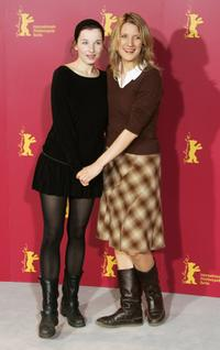 Meret Becker and Director Vanessa Jopp at the photocall of