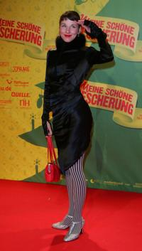 Meret Becker at the premiere of