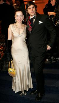 Meret Becker and Alexander Beyer at the Opening Party of 57th Berlin International Film Festival (Berlinale).