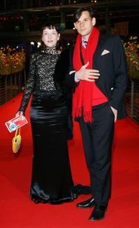 Meret Becker and Alexander Beyer at the premiere of