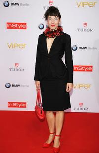 Meret Becker at the Viper Awards.
