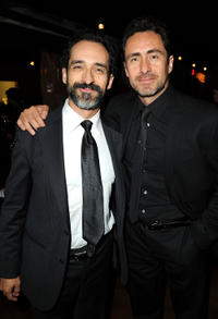 Bruno Bichir and Demian Bichir at the world premiere of