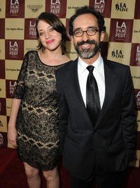 Bruno Bichir and Guest at the world premiere of
