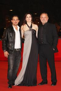Moritz Bleibtreu, Martina Gedeck and director Uli Edel at the premiere of
