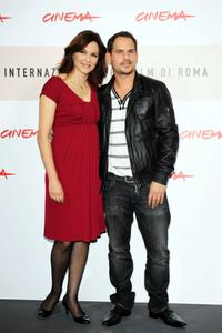 Martina Gedeck and Moritz Bleibtreu at the photocall of
