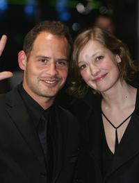 Alexandra Maria Lara and Moritz Bleibtreu at the premiere of