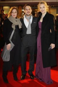 Evgenia Dodina, Moritz Bleibtreu and Juliane Koehler at the premiere of
