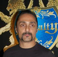 Rahul Bose at the launch of Club Royalty in Mumbai.
