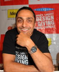 Rahul Bose at the press conference in Ahmedabad.