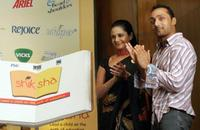Mandira Bedi and Rahul Bose at the launch of