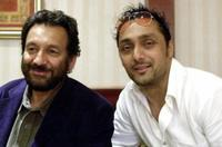 Shekhar Kapur and Rahul Bose at the