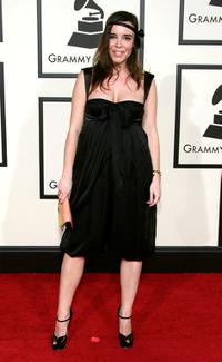 Elodie Bouchez at the 50th Annual Grammy awards.