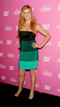 Connie Britton at the SELF Magazines celebration of cover model and CARE ambassador Sarah Michelle Gellar.