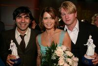 Fatih Akin, Anja Kling and Detlev Buck at the Bavarian Film Awards.