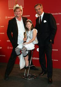 Detlev Buck, Zoe Mannhardt and Claus Boje at the German Film Awards.
