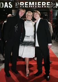 Detlev Buck, Jenny Elvers-Elbertzhagen and David Kross at the premiere of