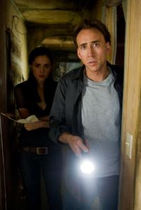 Rose Byrne and Nicolas Cage in