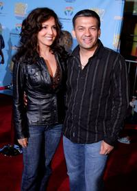 Maria Canals and her husband David at the DVD premiere of