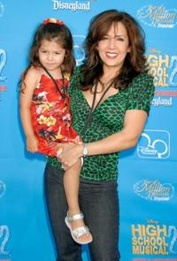 Bridgett and her mother Maria Canals at the DVD premiere of