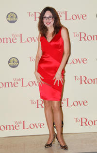 Simona Caparrini at the world premiere of