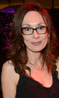 Simona Caparrini at the premiere of