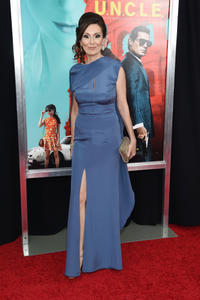 Simona Caparrini at the New York premiere of
