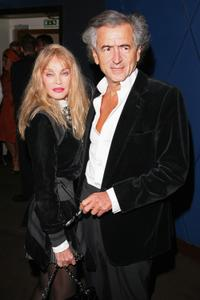 Arielle Dombasle and Bernard-Henri Levy at the Paris premiere of