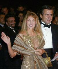 Arielle Dombasle and Bernard Henri Levy at the second Annual Marrakesh Film Festival.