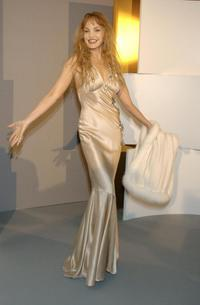Arielle Dombasle at the 29th Nuit des Cesars.