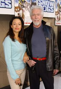 James Coburn and his wife Paula at the Los Angeles premiere of