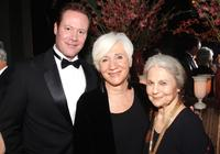Chris Lemmon, Olympia Dukakis and Lynn Cohen at the National Arts Club celebration.
