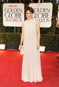 Meltem Cumbul at the 69th Annual Golden Globe Awards in California.