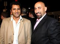 Cliff Curtis and Marco Kahn at the premiere of