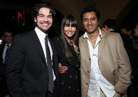 Steven Strait, Camilla Belle and Cliff Curtis at the after party of the premiere of