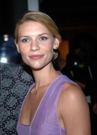 Claire Danes at Olympus Fashion Week in N.Y.