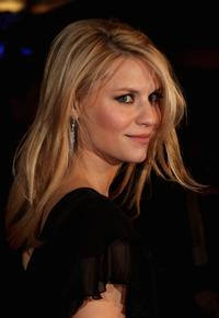 Claire Danes at the London premiere of
