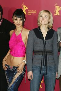 Bai Ling and Ingeborga Dapkunaite at the photocall of