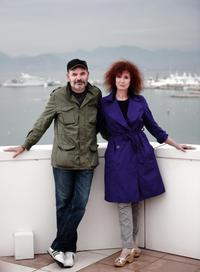 Jean-Pierre Darroussin and Sabine Azema at the photocall of