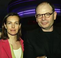 Carole Bouquet and Jean-Pierre Darroussin at the screening of
