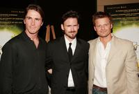 Christian Bale, Jeremy Davies and Steve Zahn at the premiere of