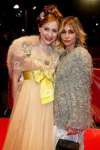 Julie Depardieu and Emmanuelle Beart at the premiere of