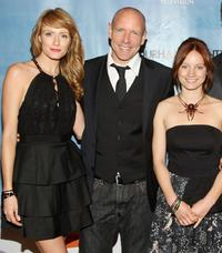 Helene Joy, Hugh Dillon and Laurence Leboeuf at the series premiere of