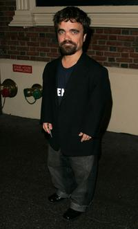 Peter Dinklage at the opening night of
