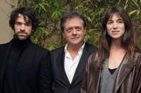 Romain Duris, Patrice Chereau and Charlotte Gainsbourg at the premiere of