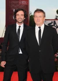 Romain Duris and Patrice Chereau at the premiere of