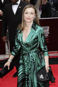 Amanda Donohoe at the Pioneer British Academy Television Awards.