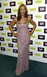 Amanda Donahue at the British Comedy Awards 2002.