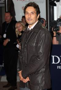 Vincent Elbaz at the screening of