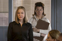 Renee Zellweger as Lucy Hill and Siobhan Fallon Hogan as Blanche Gunderson in